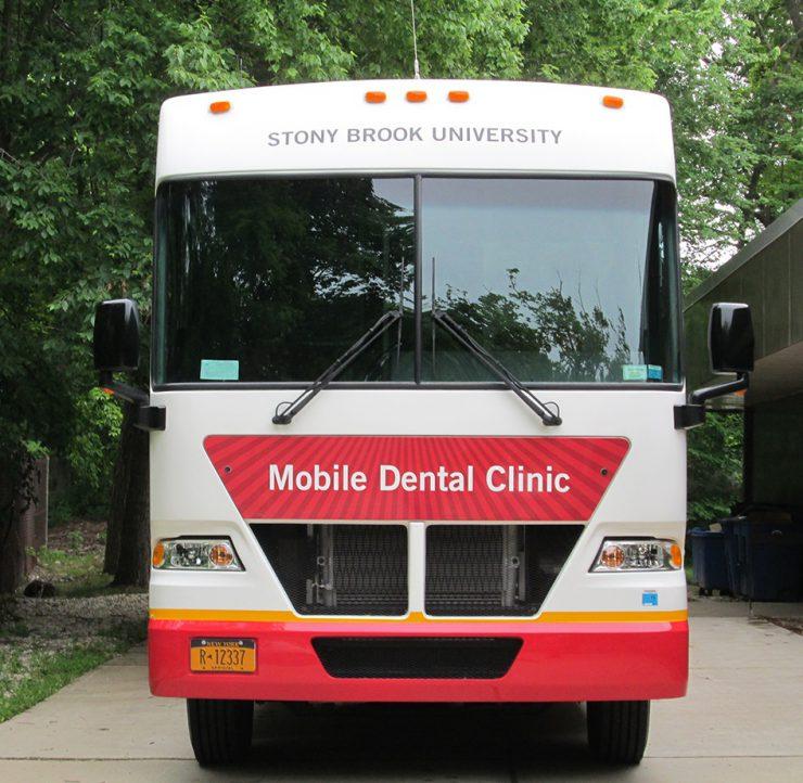Dental van front a