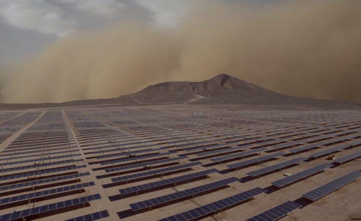Solarpaneldust