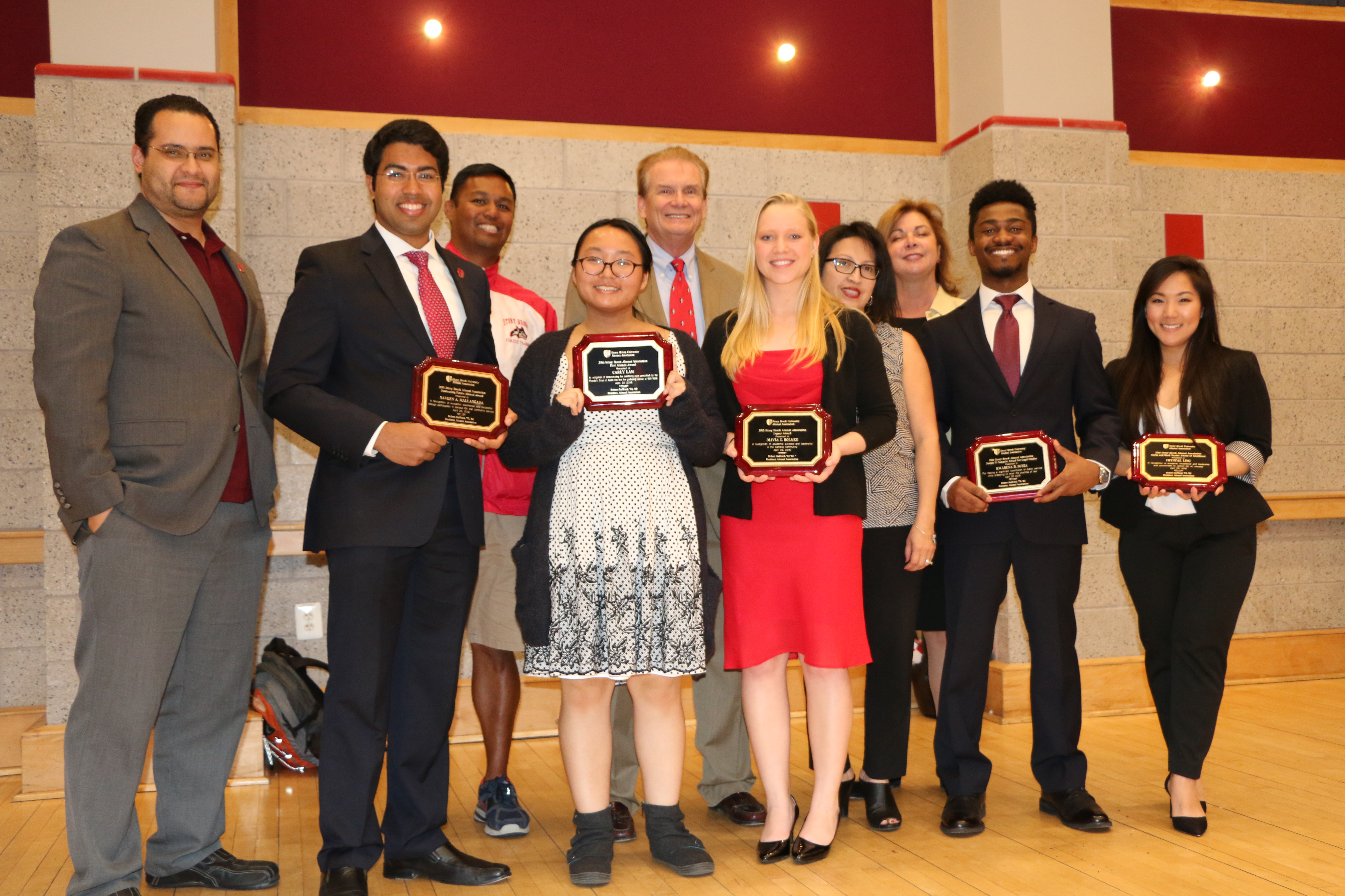 2016 Alumni Association Student Scholarship Recipients