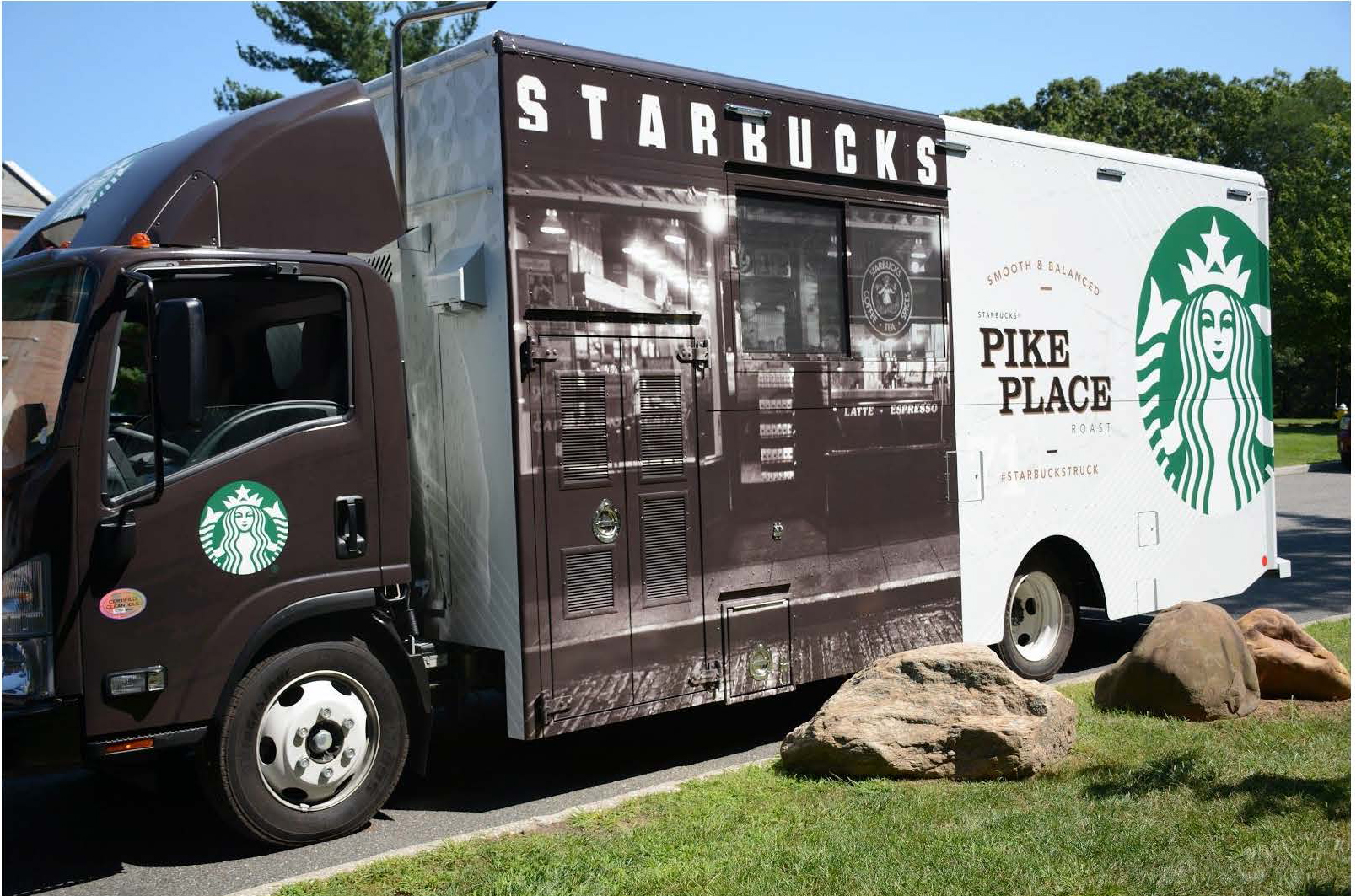 1 starbucks truck