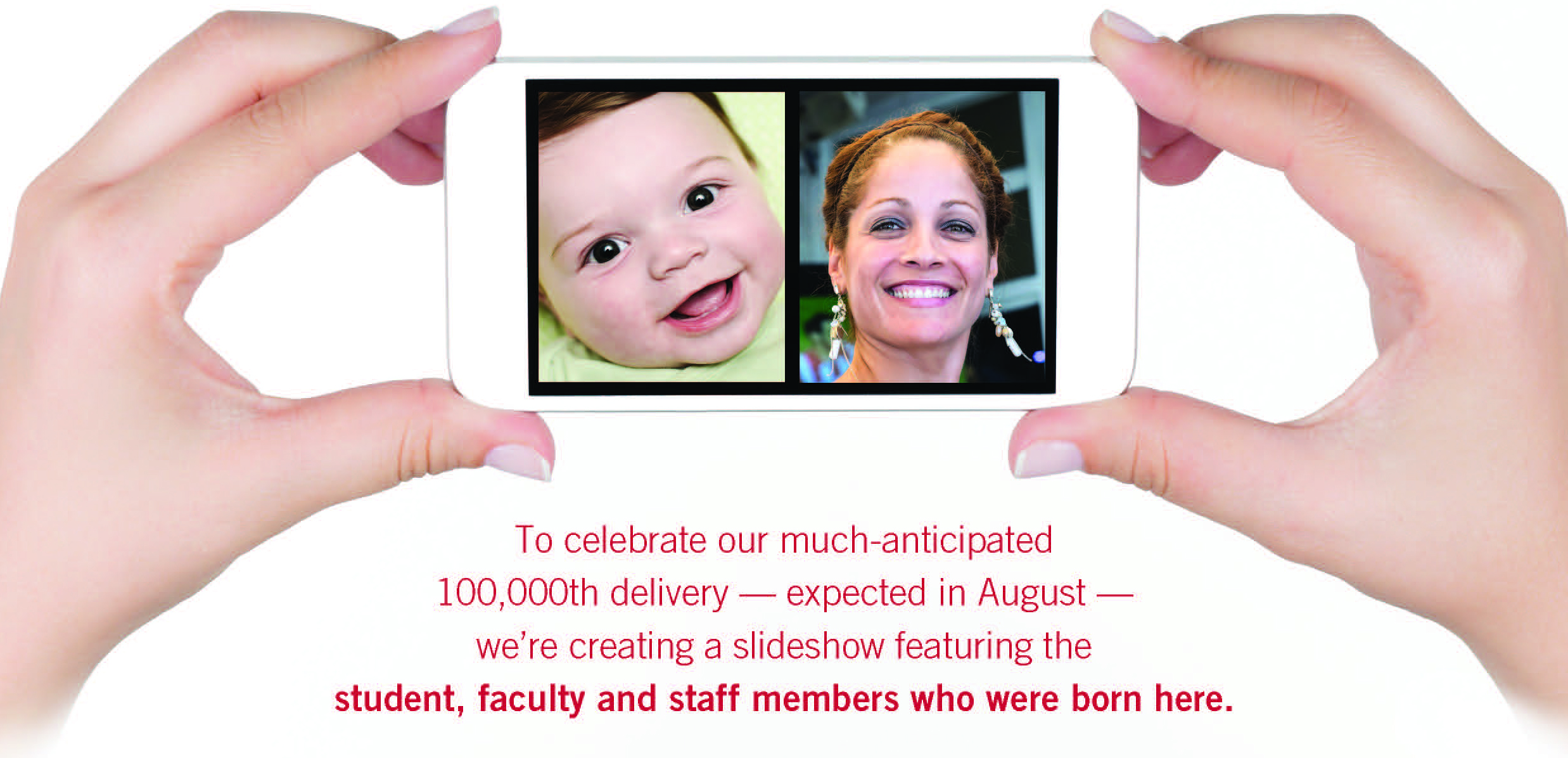 100K birth  Selfie