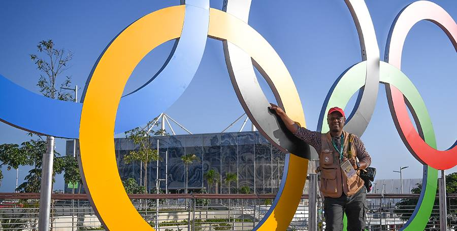 Bedel Saget at Rio Olympics