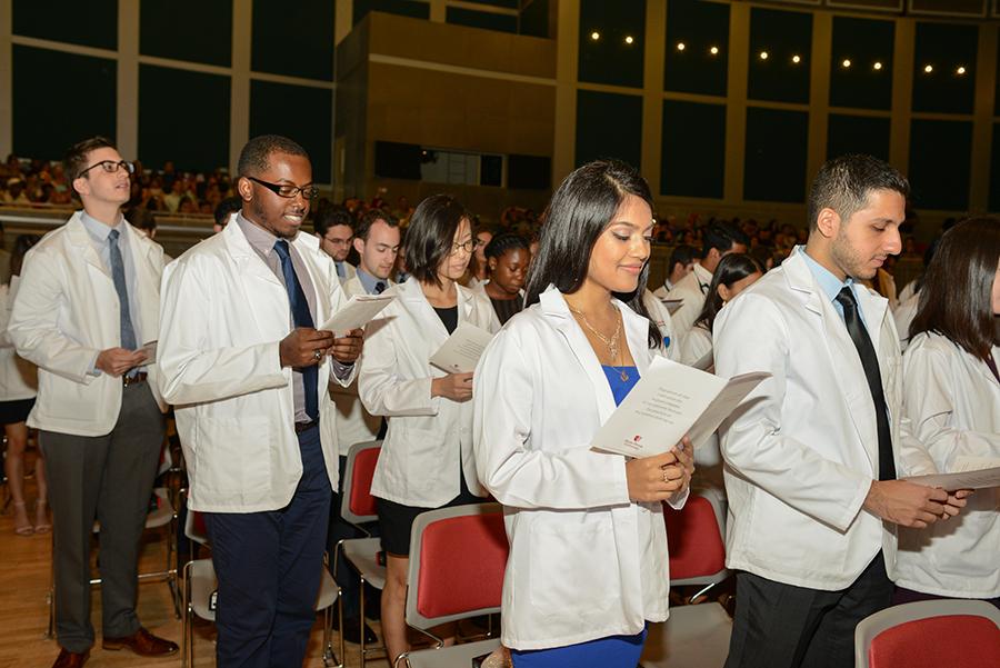 White Coat Ceremony 2017 Oath