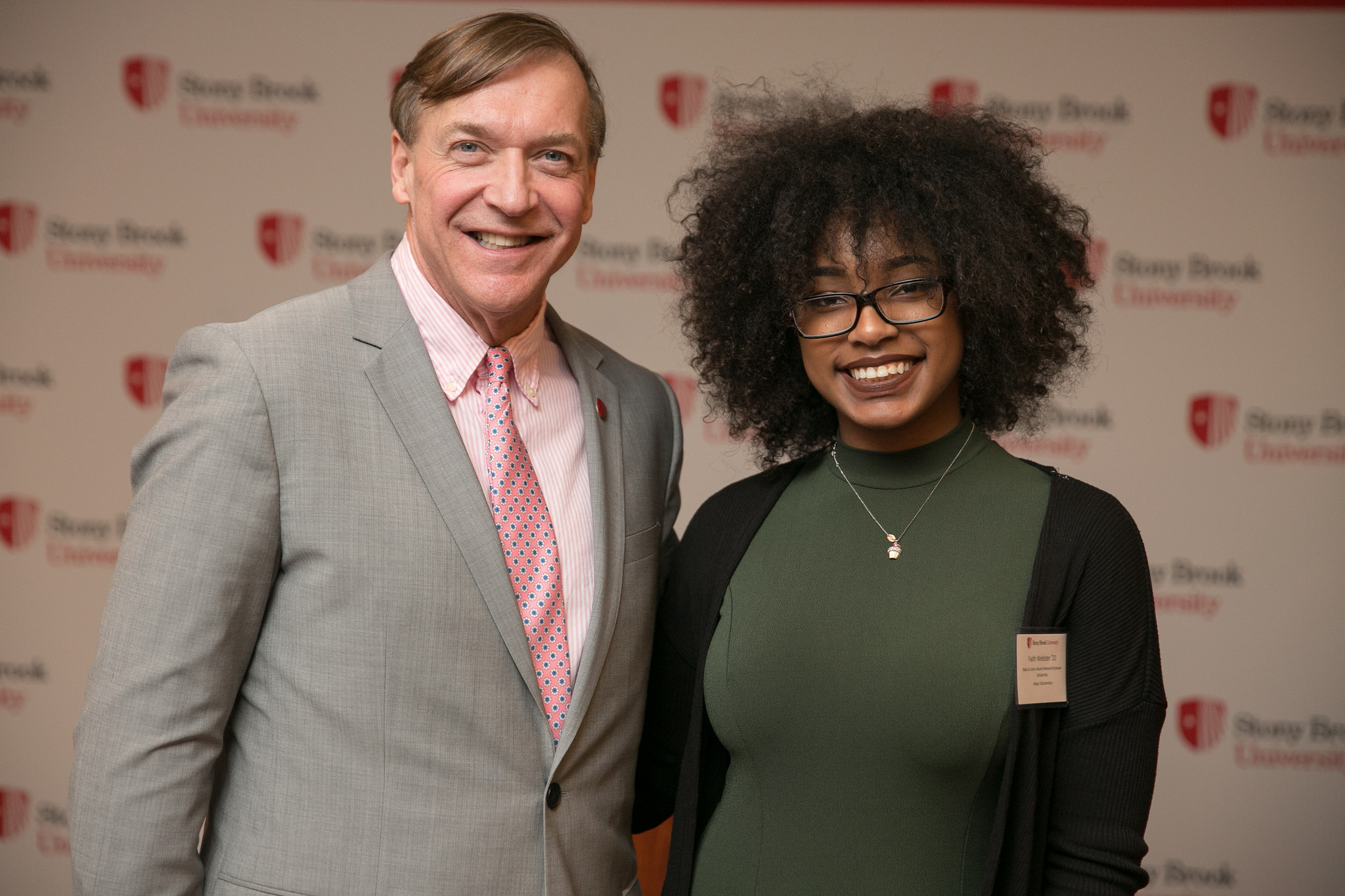 Grateful scholarship recipients and generous donors enjoyed making meaningful connections during the annual Scholarship Celebration on March 22, 2017. This event is a highlight for Stony Brook's scholarship donors and the students whose lives have been directly impacted by their generosity.