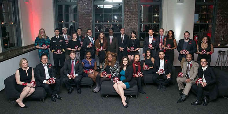 Fourth Annual 40 Under Forty Honorees
