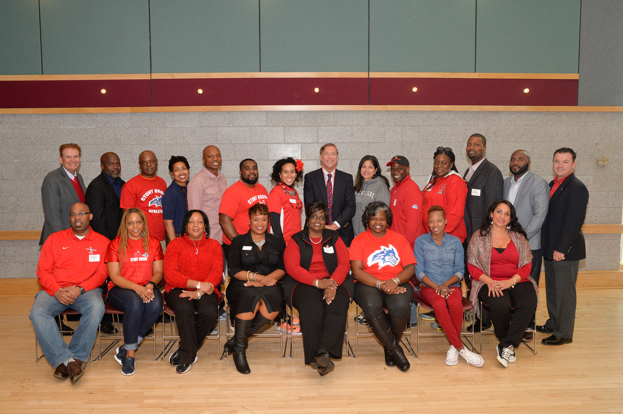 Black and Latino Alumni Network members on October 17, 2015