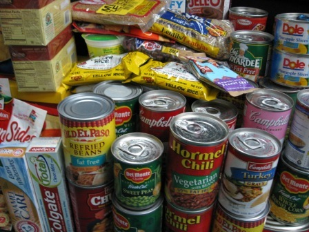 Canned foods 1