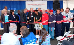 Copy of group ribbon cutting