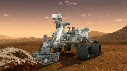 Curiosity rover 1