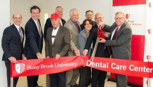 Dental care center ribbon cutting
