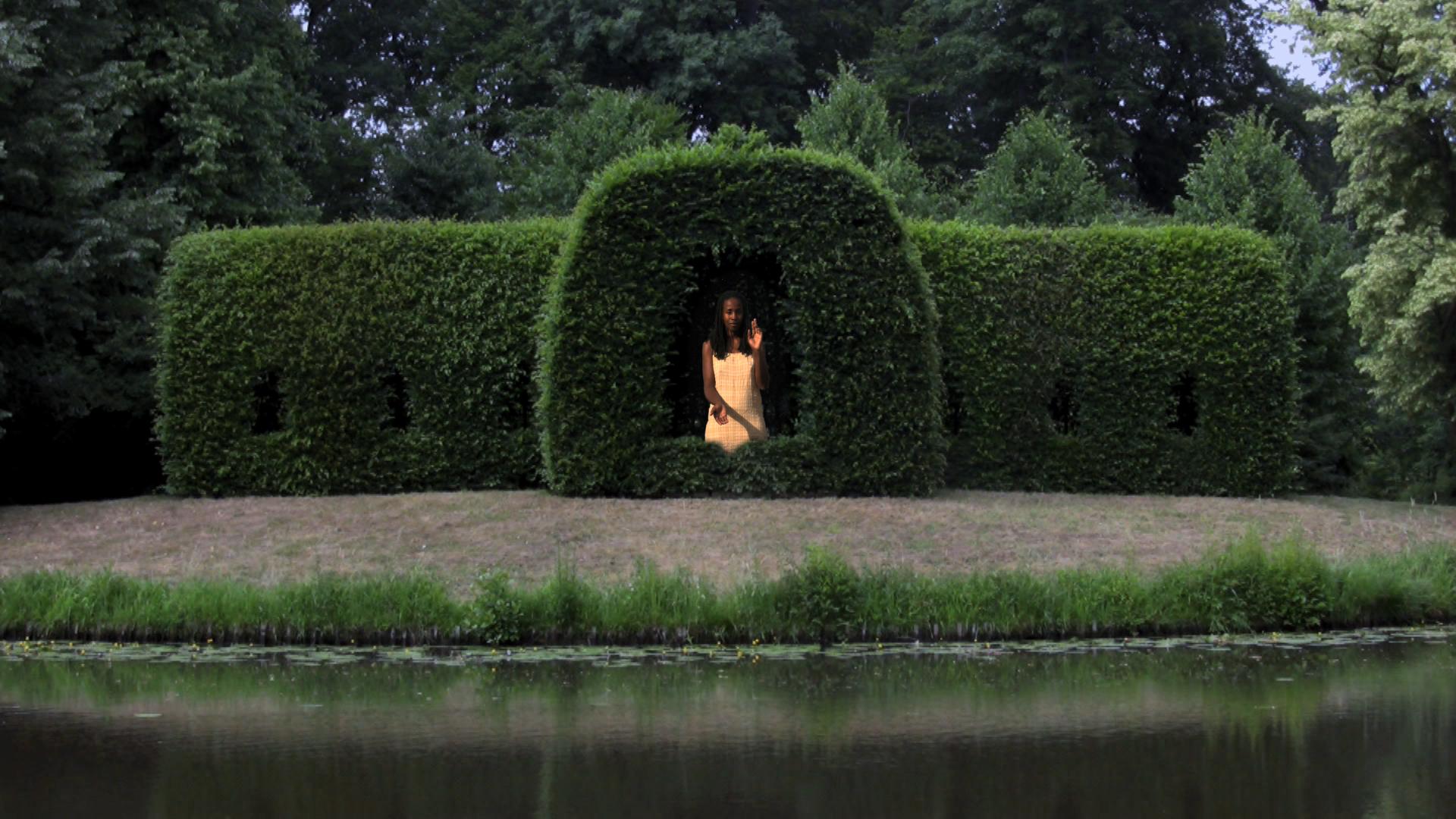 Stephanie Dinkins, Iconology: Lieben Frau von Bremen, 2009, video still
