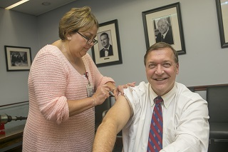 Dr. stanley 2013 flu shot