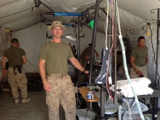 Dr greg mallo in afghanistan