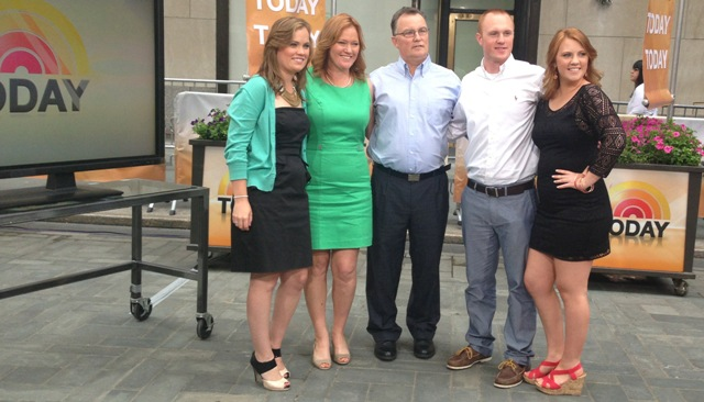 Frank furia family on today show for news