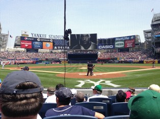 Frank furia view at yankee stadium