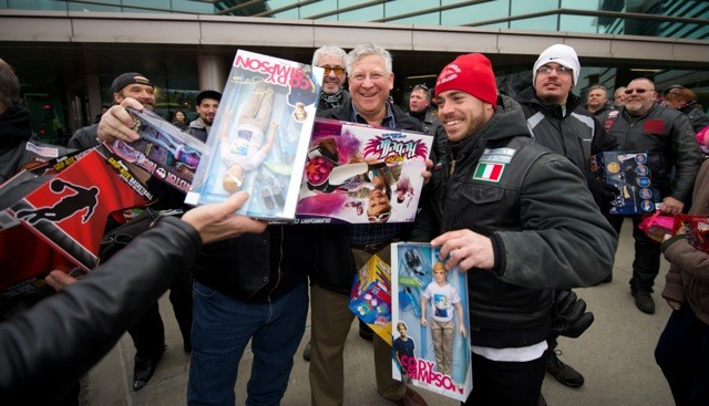 Long Island Motorcycle Enthusiasts Bring Toys to Kids at