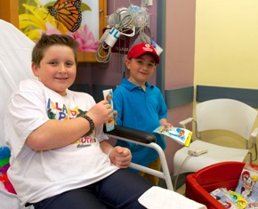 Jake june with patient sean flynn 1