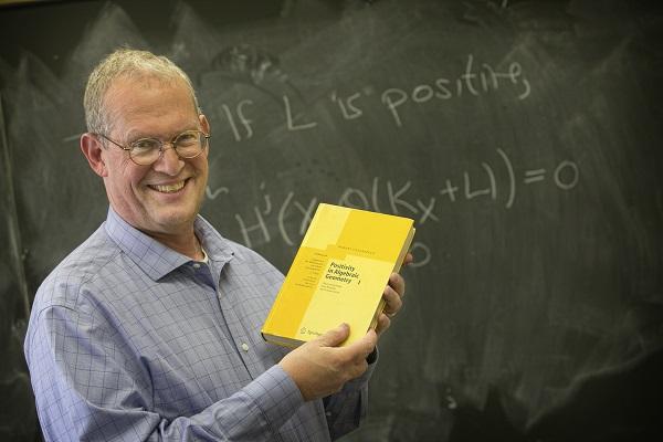 Stony Brook, NY; Stony Brook University: Math Professor Robert Lazarsfeld