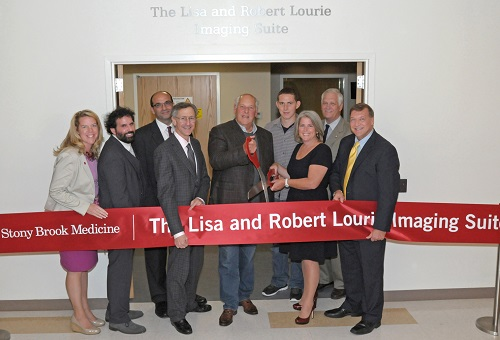 Lourie imaging suite ribbon cutting for news 1