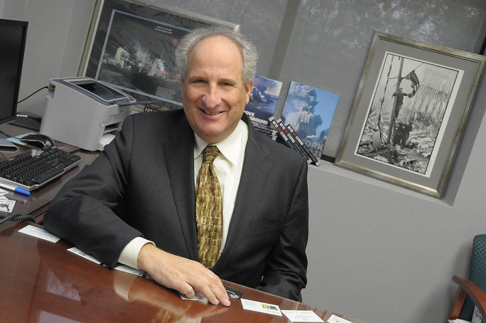 Dr. Benjamin Luft at the Stony Brook WTC Wellness Program.