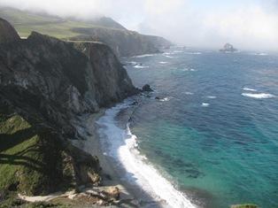 Monterrey coastline