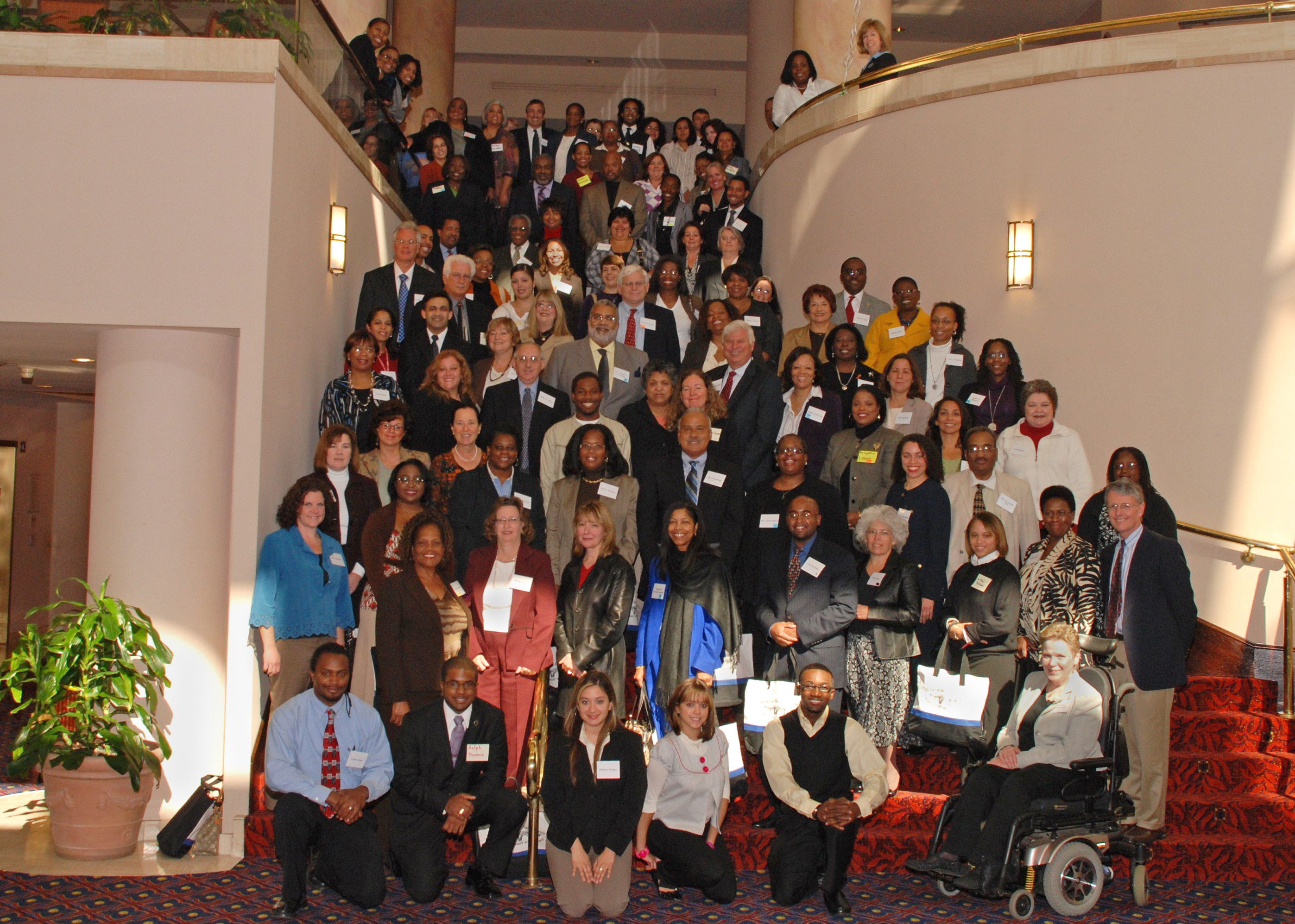 Participants from the first Suffolk County Minority Health Summit in 2008