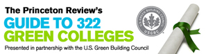 Princeton review green colleges 1
