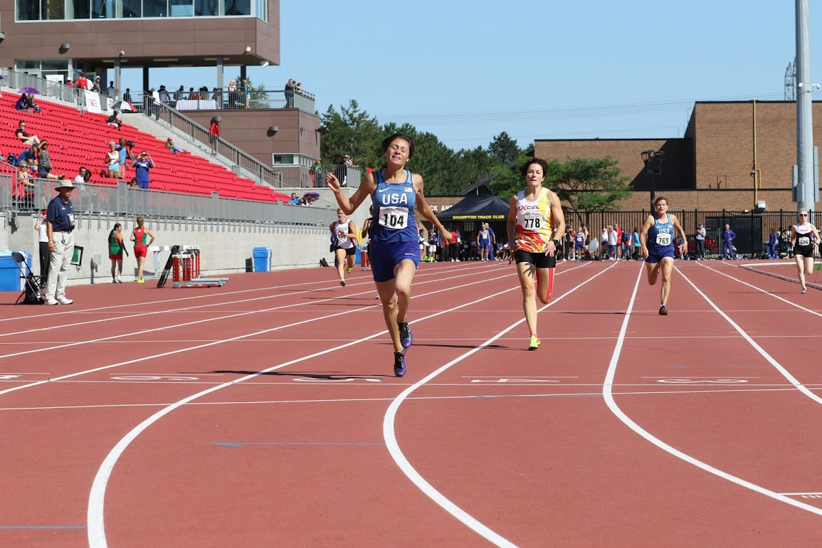 Roxanne brockner 200 meter