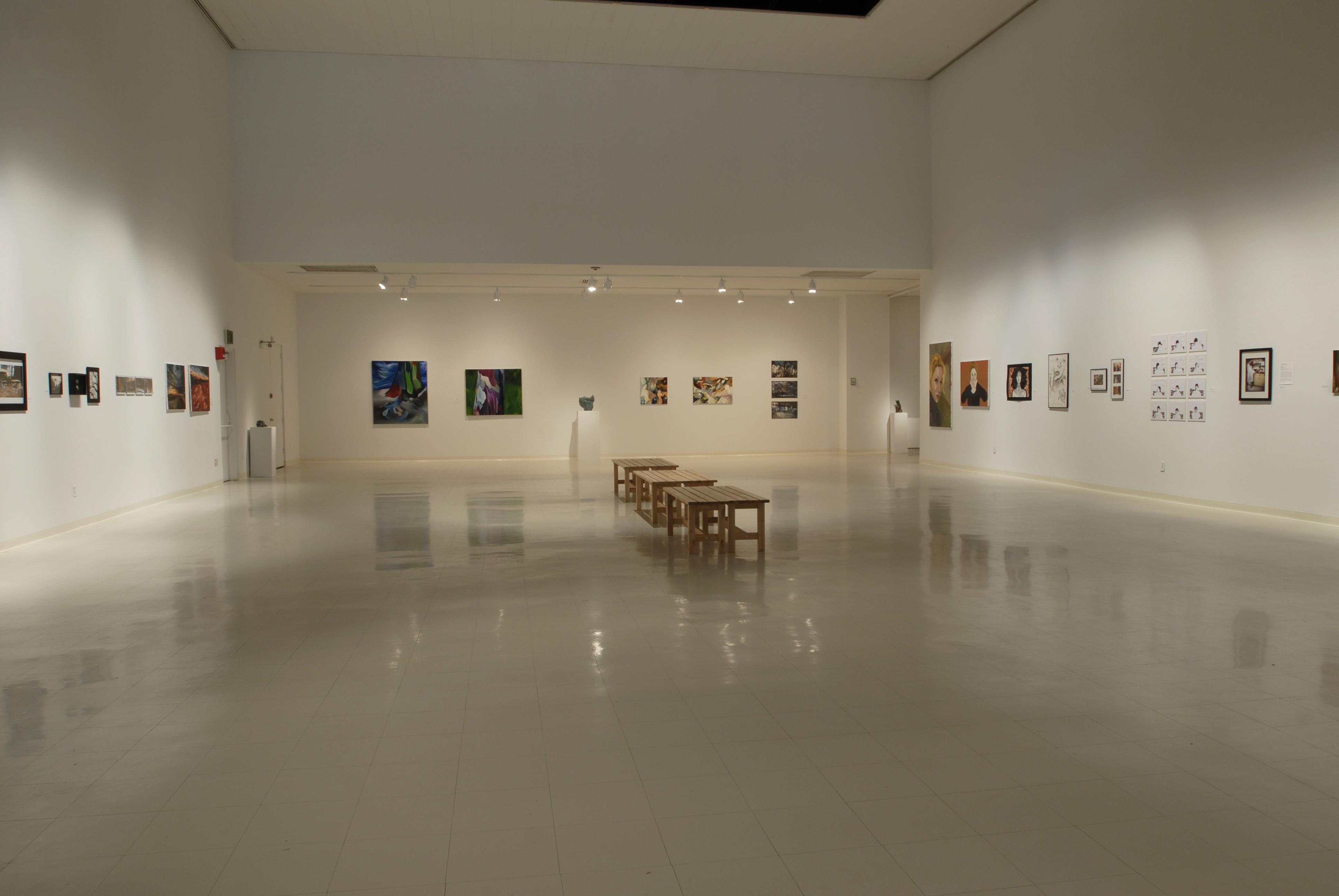 Senior Show 2009, installation view
