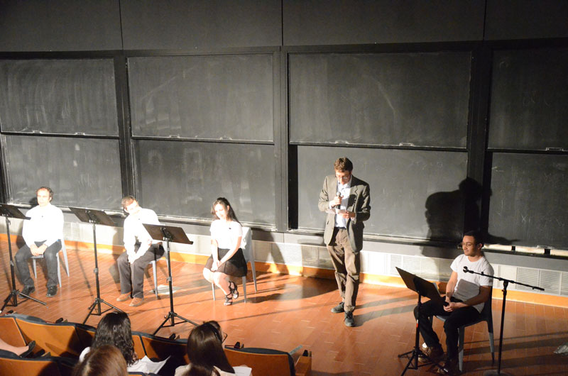 Winners of Science Playwriting Competition Showcased     SBU