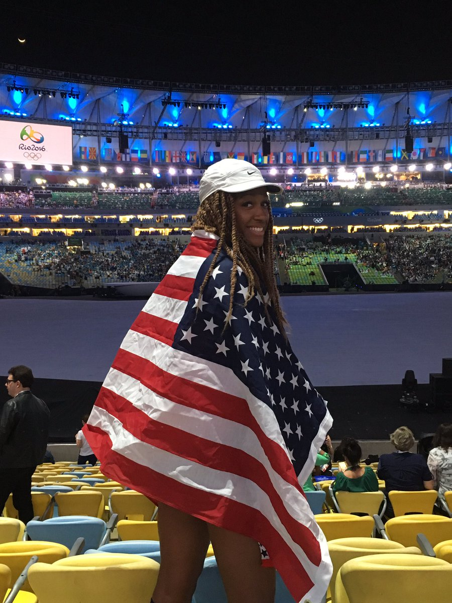 Evann Slaughter '14 at Rio Olympics