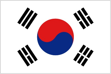 South korea flag 1