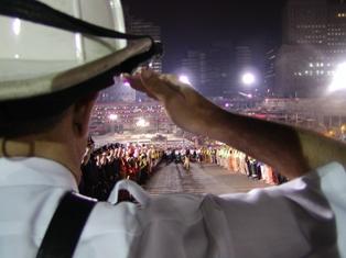 The salute. photo taken by steve spak web
