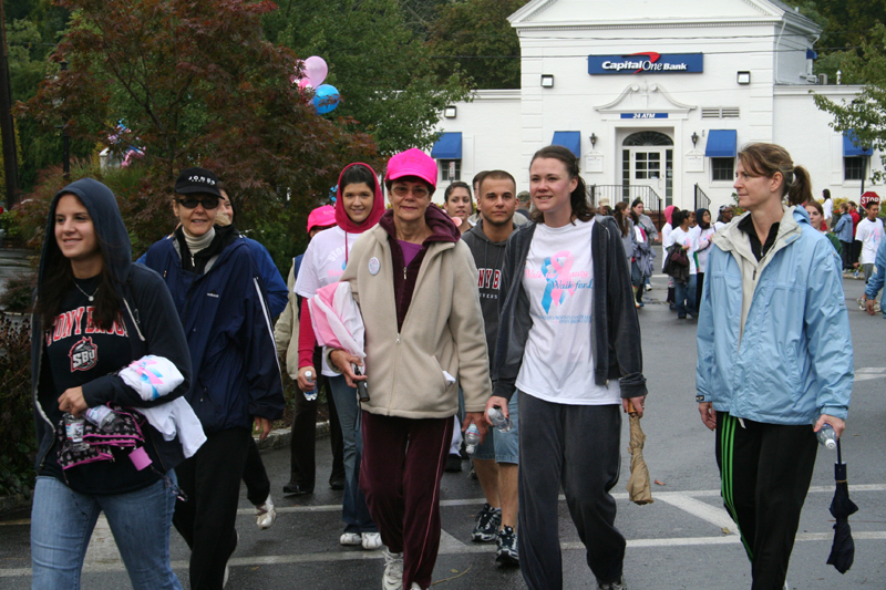 Walkers from the 2008 Walk for Beauty
