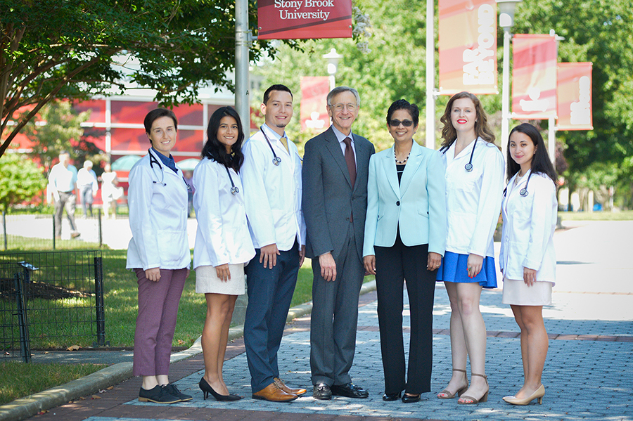 White Coat 2017 Leadership