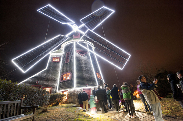 Windmill lighting ceremony internet