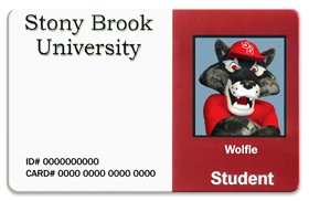 Wolfie id card small
