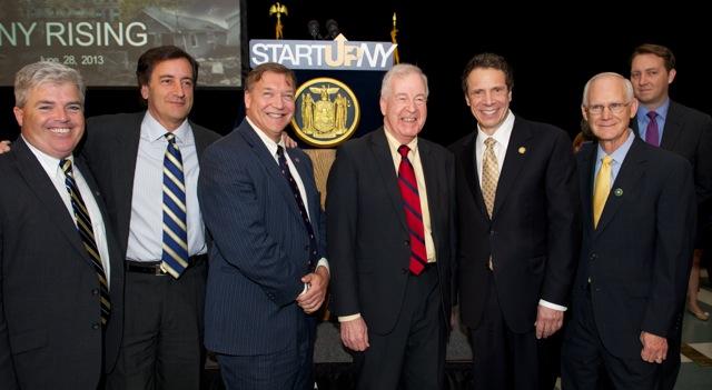 Start-Up NY bill signing
