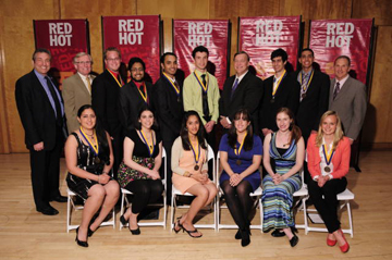 Chancellor s award recipients group for web