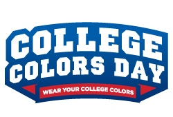 College colors day logo
