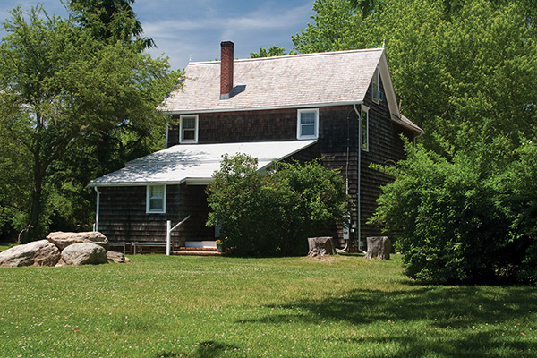 Their property was deeded to the Stony Brook Foundation in 1987.