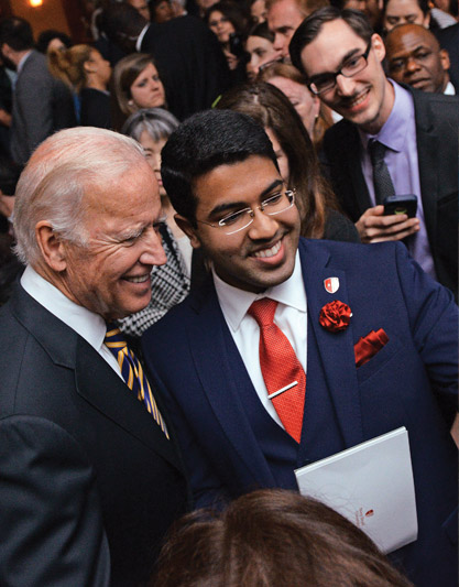 FORMER VICE PRESIDENT JOSEPH R. BIDEN JR. AT THE STARS OF STONY BROOK GALA