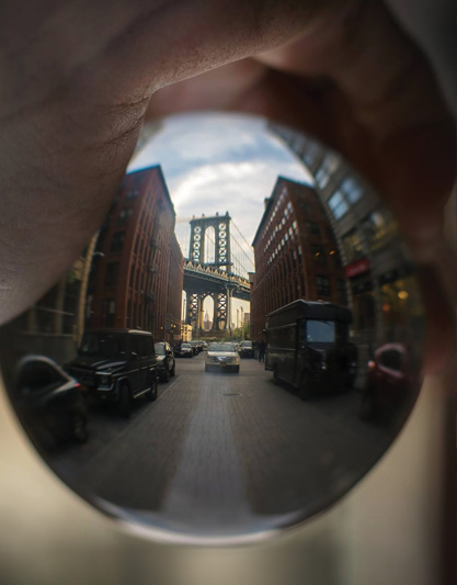 Pierre Lidar's striking photo of the Manhattan Bridge was honored in Stony Brook's 2017 Graduate/PostDoc photo contest. A DMA student at Stony Brook, the multi-talented Lidar is also a professional bassoonist and artistic director of the Metamorphosis Chamber Orchestra.