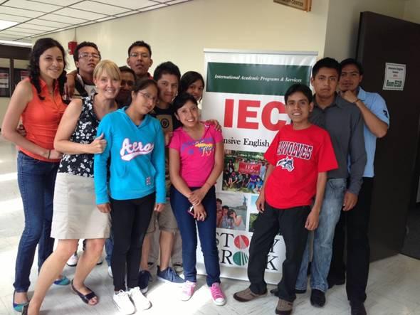 Puebla university students at Stony Brook