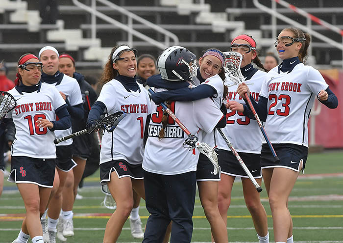 Women's LAX Advances to America East Final