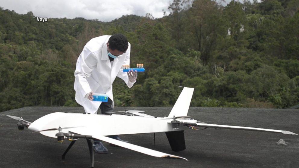 Madagascar drone