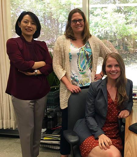 Researchers Kim, Nye and Thorne