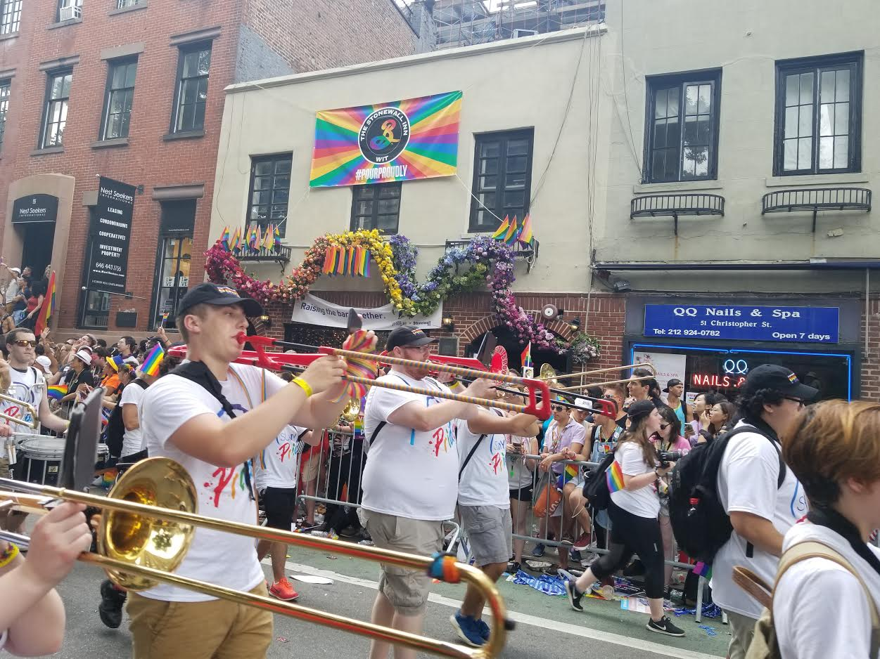 Stony Brook participates in the NYC Pride March