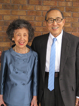 Dr. Ellen Li's parents, Mary and Henry Li.