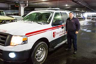 Stony Brook University Hospital Paramedic, Pete Amato (Photo Credit: Michael James Beck, MD)